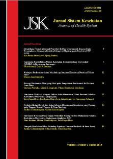 Jurnal Sistem Kesehatan