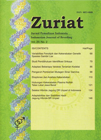 Indonesian Journal of Breeding